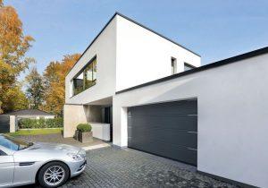 Snygg garageport från Hörmann